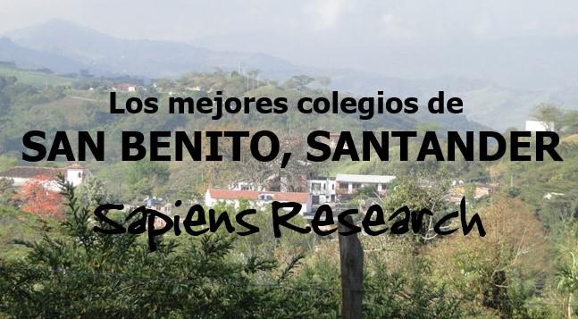 Los mejores colegios de San Benito, Santander