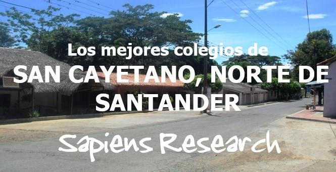 Los mejores colegios de San Cayetano, Norte de Santander