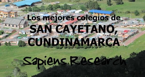 Los mejores colegios de San Cayetano, Cundinamarca