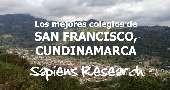Los mejores colegios de San Francisco, Cundinamarca