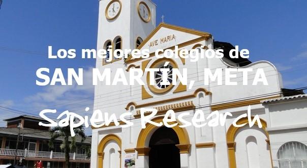 Los mejores colegios de San Martín, Meta