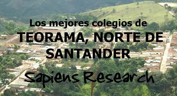 Los mejores colegios de Teorama, Norte de Santander