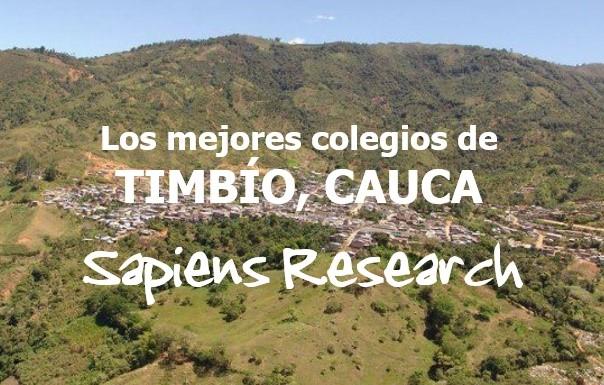 Los mejores colegios de Timbío, Cauca
