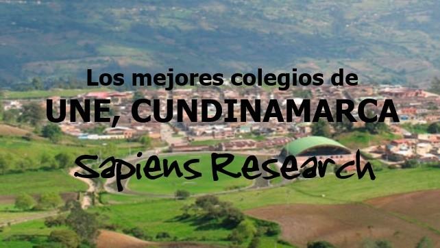 Los mejores colegios de Une, Cundinamarca