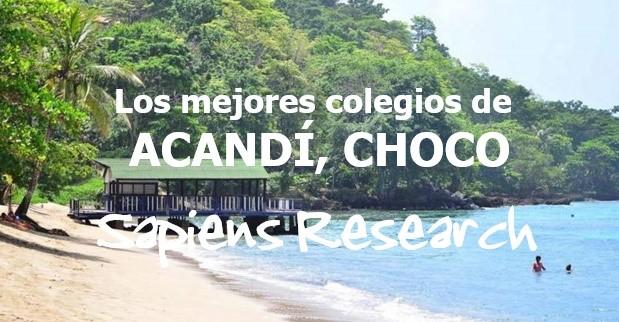 Los mejores colegios de Acandí, Chocó