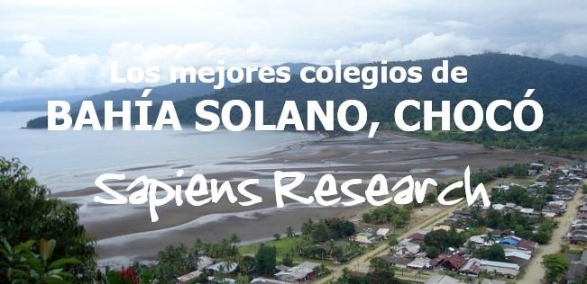 Los mejores colegios de Bahía Solano, Chocó