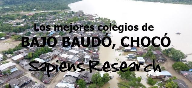 Los mejores colegios de Bajo Baudó, Chocó