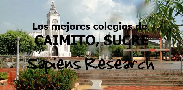 Los mejores colegios de Caimito, Sucre