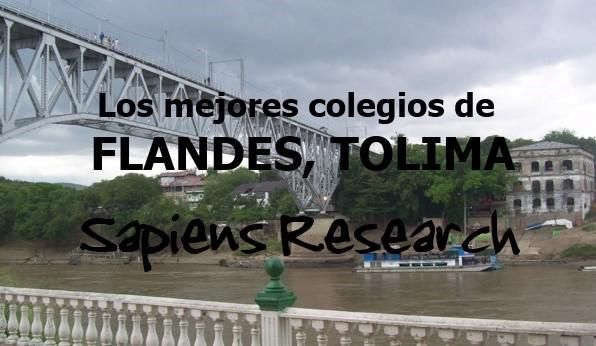 Los mejores colegios de Flandes, Tolima