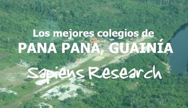 Los mejores colegios de Pana Pana, Guainía