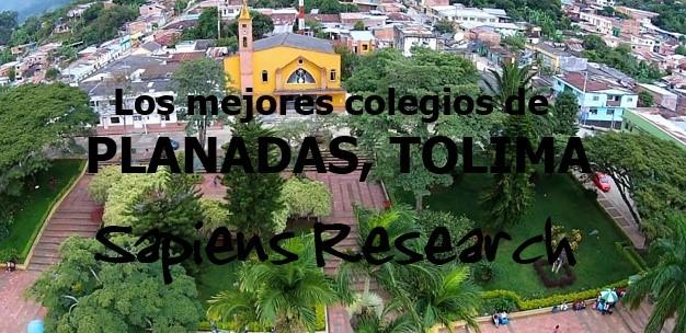 Los mejores colegios de Planadas, Tolima