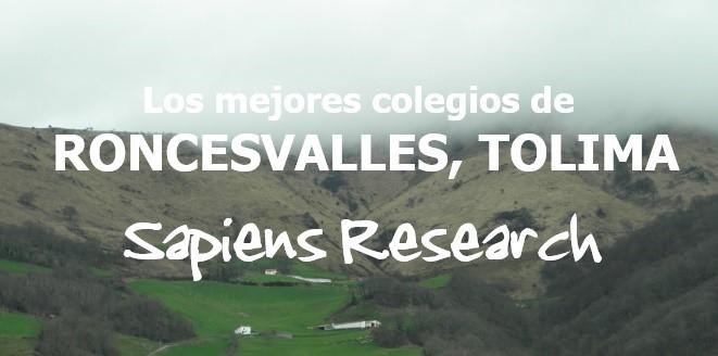 Los mejores colegios de Roncesvalles, Tolima
