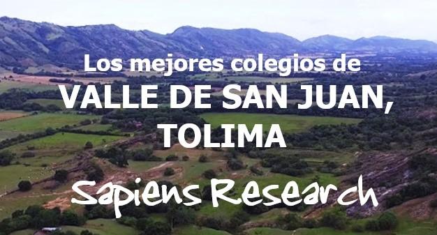Los mejores colegios de Valle de San Juan, Tolima