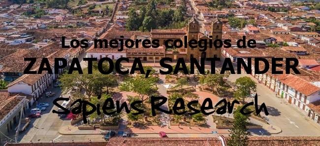 Los mejores colegios de Zapatoca, Santander