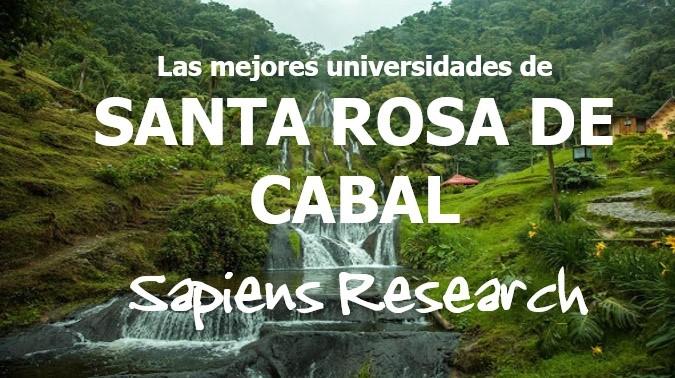 Las mejores universidades de Santa Rosa de Cabal