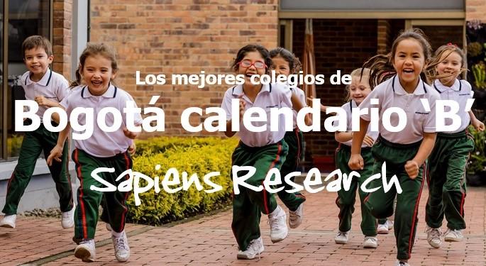 Los mejores colegios de Bogotá calendario 'B'