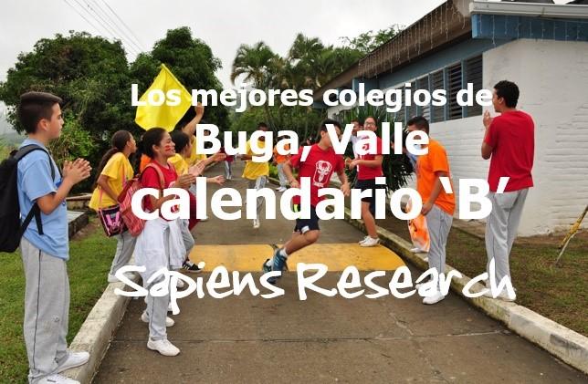 Los mejores colegios de Buga, Valle calendario 'B'
