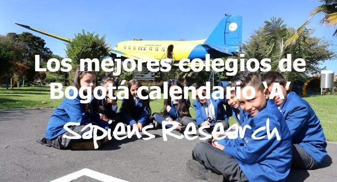 Los mejores colegios de Bogotá calendario 'A'