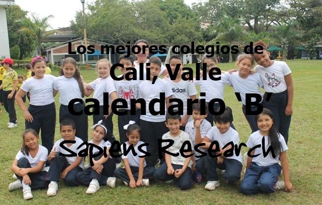 Los mejores colegios de Cali, Valle calendario 'B'