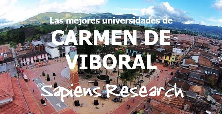 Las mejores universidades de Carmen de Viboral