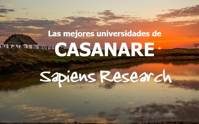 Las mejores universidades de Casanare