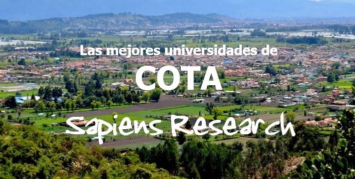 Las mejores universidades de Cota