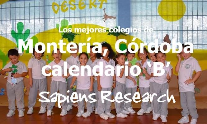 Los mejores colegios de Montería, Córdoba calendario 'B'
