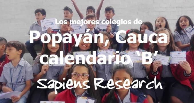 Los mejores colegios de Popayán, Cauca calendario 'B'