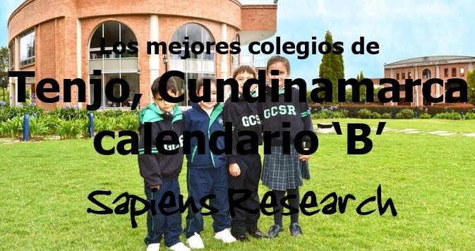 Los mejores colegios de Tenjo, Cundinamarca calendario 'B'