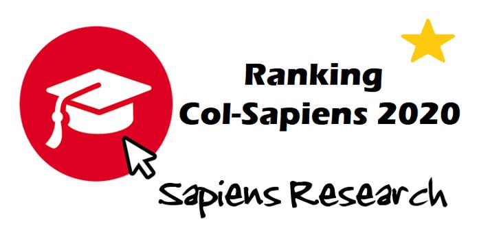 Reporte Ranking Col-Sapiens 2020