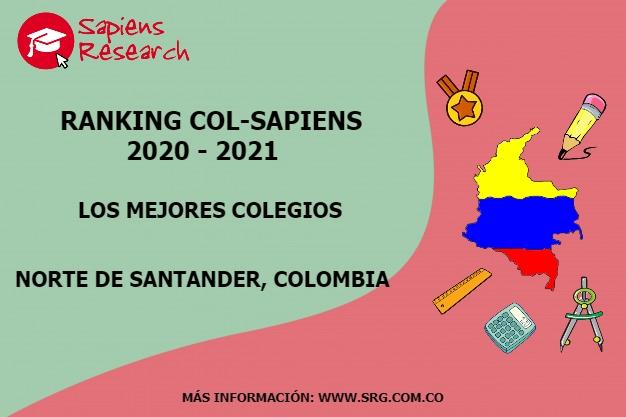 Ranking mejores Colegios-Norte de Santander, Colombia 2020-2021
