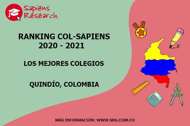 Ranking mejores Colegios-Quindío, Colombia 2020-2021
