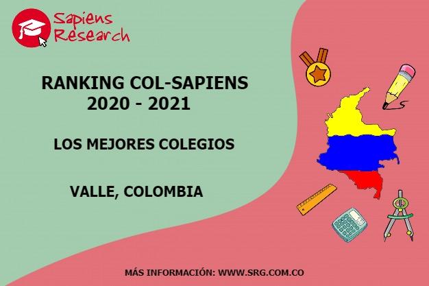 Ranking mejores Colegios-Valle, Colombia 2020-2021