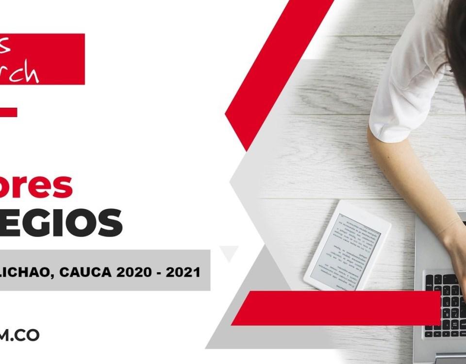 Ranking mejores Colegios-Santander de Quilichao, Cauca, Colombia 2020-2021