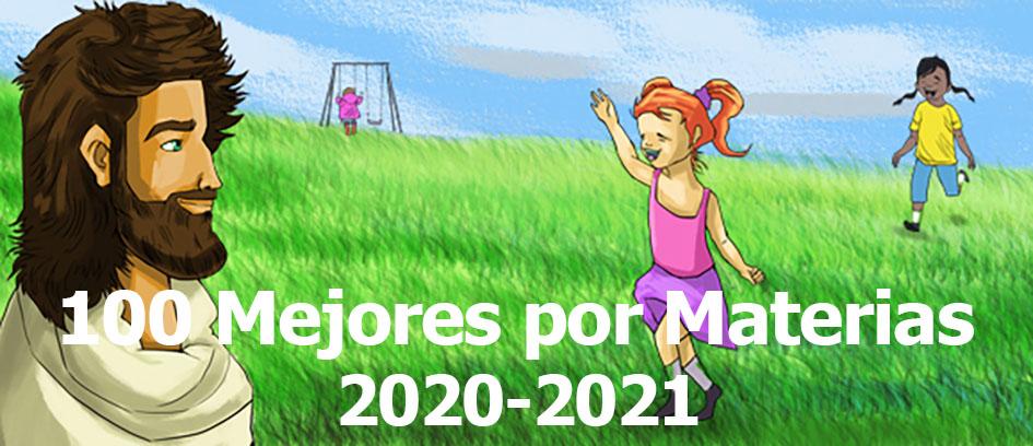 100 Mejores por Materia 2020-2021