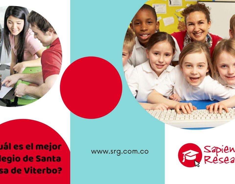 ¿Cuál es el mejor colegio de Santa Rosa de Viterbo?