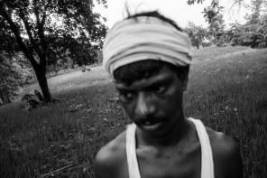 Taati Rudriah at his farm in Kondapuram.
