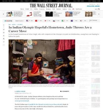The Wall Street Journal, August 09, 2016.
