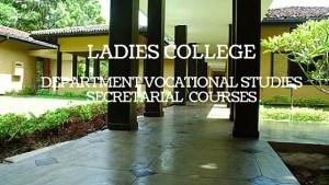 Ladies College Department Vocational Studies