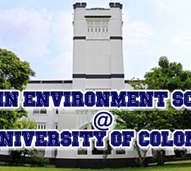 MSc in Environment Science