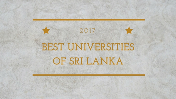 2017 Sri Lanka University Ranking