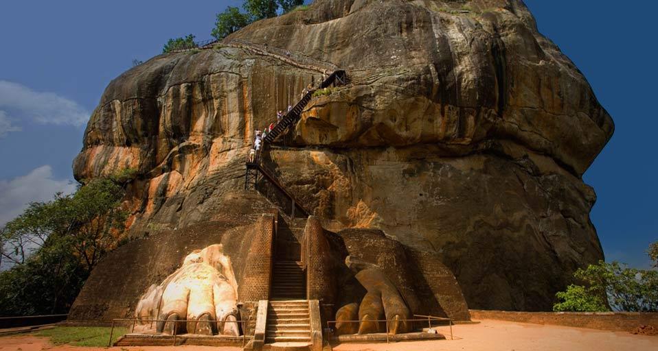 Image result for lion rock in sigiriya