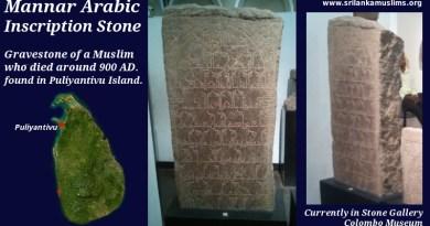 mannar inscription stone