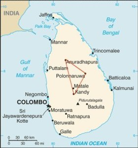 Sri Lanka Cultural Triangle and heritage sites