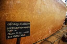 Sigiriya-Mirror-wall Lion rock