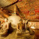 Dambulla cave temple Inside second cave | Sri lanka