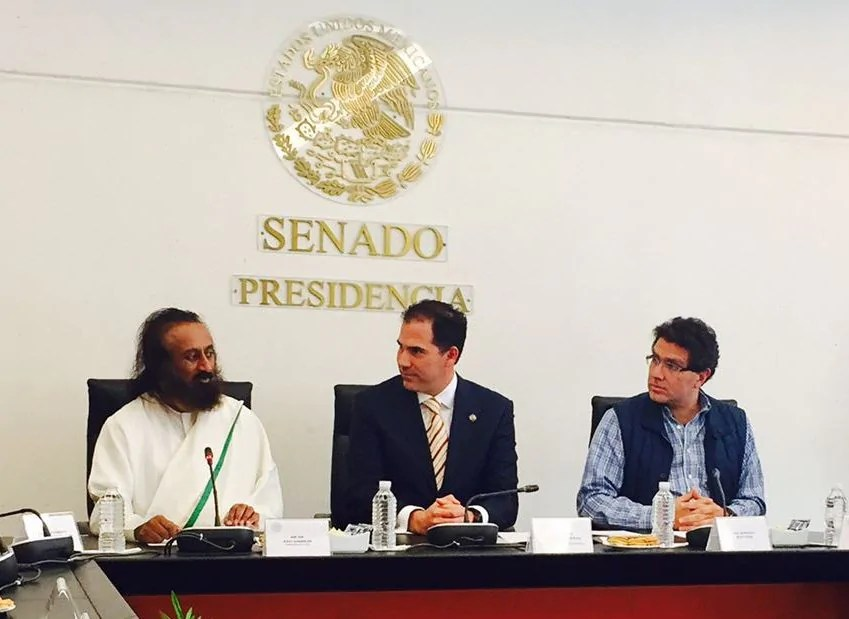 Sri Sri frees Mexico's dreaded prisons of violence