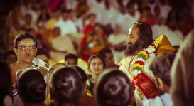 Mahashivratri Celebrations with Gurudev Sri Sri Ravi Shankar brought together over a lakh people from 100 countries