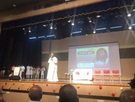 दावणगेरे इथे वीस कॉलेजच्या हजारो युवकांना श्री श्री रवि शंकरजींनी संबोधित केले | Sri Sri Ravi Shankar Addresses Thousands of Youths from 20 Colleges in Davangere