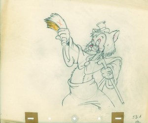 #028 ANIMATION DRAWING of GIDEON Image